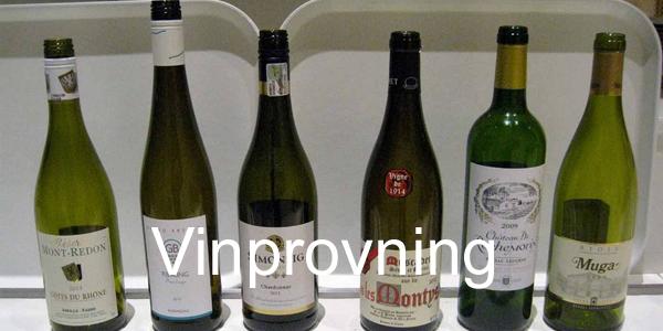 vinprovning lund